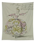 Miss Puvigne As Air, In Zoroastre, A Libretto By Cahusac Tapestry