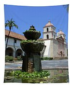 Mission Fountain Tapestry