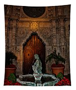 Mission Inn Chapel Fountain Tapestry