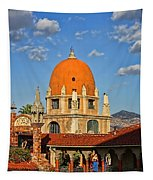 Mission Inn Dome Tapestry