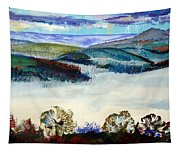 Mist In The Exe Valley In Exeter Devon Tapestry