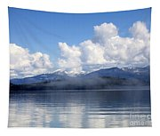 Mist Over Priest Lake Tapestry