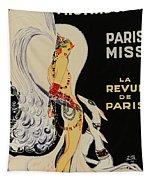 Mistanguette At The Casino De Paris Tapestry