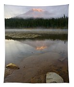 Misty Alpenglow Tapestry