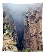 Misty Canyons Tapestry