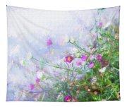Misty Floral Spray Tapestry