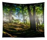 Misty Morning Tapestry