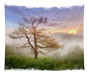 Misty Mountain Tapestry
