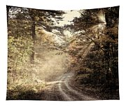 Misty Mountain Road Tapestry