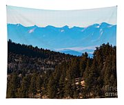 Misty Sangre View Tapestry