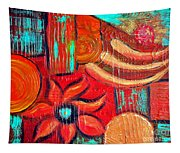 Mixed Media Abstract  Tapestry