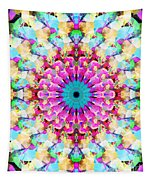Mixed Media Mandala 9 Tapestry