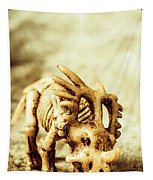 Model Styracosaurus Skeleton Tapestry