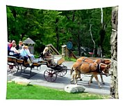 Mohonk Carriage Tour Tapestry