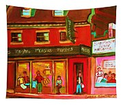 Moishes Steakhouse On The Main Tapestry