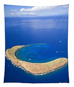 Molokini Crater Tapestry
