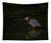 Moment Of The Heron Tapestry