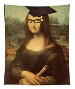 Mona Lisa  Graduation Day Tapestry