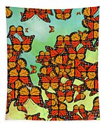 Monarch Butterflies Tapestry