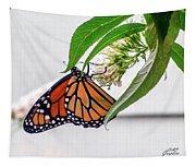 Monarch Butterfly In The Garden 3 Tapestry
