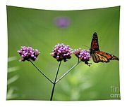 Monarch Butterfly Balanced 2017 Tapestry