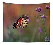 Monarch Butterfly In Autumn 2011 Tapestry