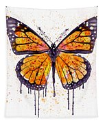 Monarch Butterfly Watercolor Tapestry