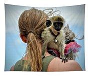 Monkeying Around Tapestry