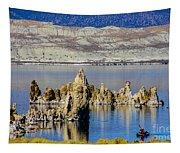 Mono Lake Spires Tapestry