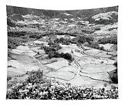 Monochrome Valley Tapestry