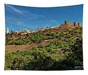 Monsaraz Medieval Town, Portugal Tapestry