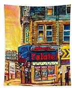 Monsieur Falafel Tapestry