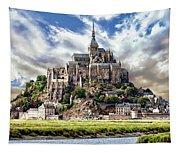 Mont Saint-michel Tapestry