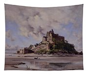 Mont Saint Michel Tapestry