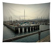 Monterey Marina Tapestry