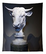 Monti's Head Of A Bull Tapestry