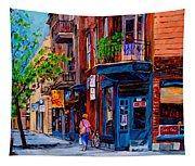 Montreal Depanneurs Tapestry