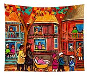 Montreal Early Autumn Tapestry