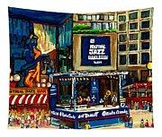 Montreal International Jazz Festival Tapestry