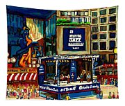 Montreal Jazz Festival Arcade Tapestry