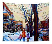 Montreal Winter Tapestry