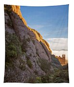 Montserrat Hike Painterly Tapestry