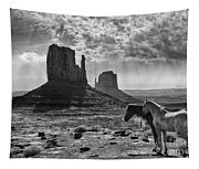 Monument Valley Horses Tapestry