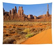 Monument Valley,arizona Tapestry