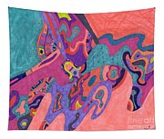 Moon Crashers Tapestry