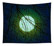 Moon Of The Werewolf Tapestry