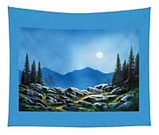Moonlight Hike Tapestry