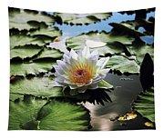Moonlight Lily  Tapestry