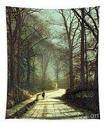 Moonlight Walk Tapestry
