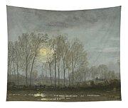 Moonlit Landscape Tapestry